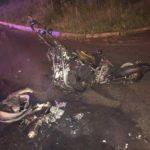 Врезался в столб и загорелся: подросток уходил от погони ДПС во Владивостоке