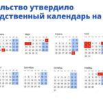 Новогодние и майские: утверждён перенос выходных дней на 2022 год