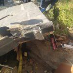 «Там страх - висит рука, пробита голова»: бетонный козырёк рухнул на мужчину в Приморье