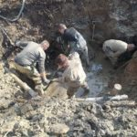 Катастрофа произошла в 1954: идут работы на месте падения огромного самолета в Приморье